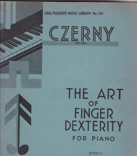 Image for The Art of Finger Dexterity for Piano Book II Op. 740 (Carl Fischer's Music Library No. 391)