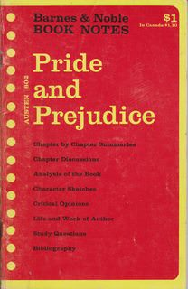 Image for Jane Austen: Pride and prejudice, (Barnes & Noble book notes)
