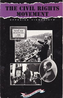 Image for The Civil Rights Movement: Opposing Viewpoints (American History Series)