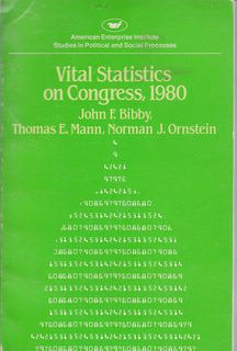 Image for Vital Statistics on Congress 1980