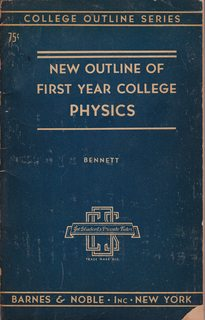 Image for New Outline of First Year College Physics
