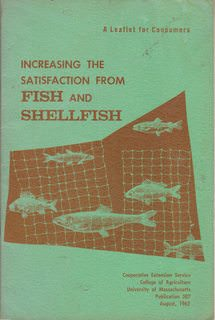 Image for Increasing the Satisfaction from Fish and Shellfish (Leaflet for Consumers) Publication 387