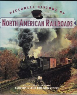 Image for Pictorial History Of North American Railroads