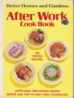 Image for Better Homes and Gardens After Work Cook Book
