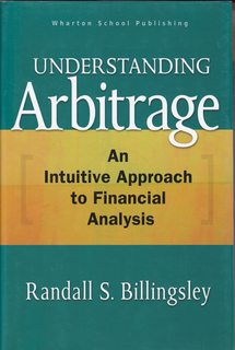 Image for Understanding Arbitrage: An Intuitive Approach to Financial Analysis