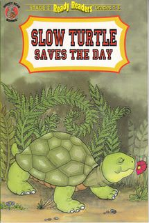 Image for Slow turtle saves the day (Honey bear books)