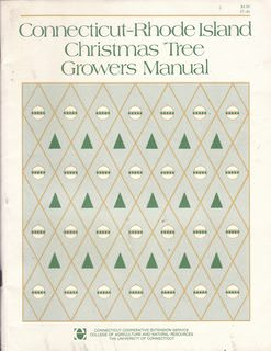 Image for Connecticut-Rhode Island Christmas Tree Growers Manual