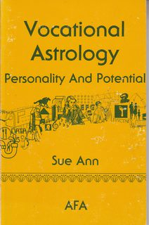 Image for Vocational Astrology: Personality and Potential/S2423014