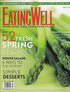 Image for Eating Well April 2007