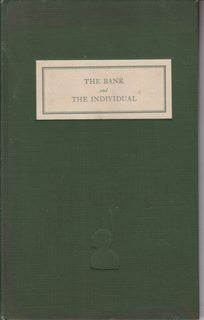 Image for The Bank and the Individual