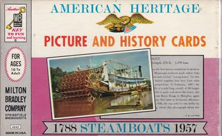 Image for American Heritage Picture and History Cards: 1788 Steamboats 1957