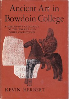 Image for Ancient Art in Bowdoin College: A Descriptive Catalogue of The Warren and Other Collections