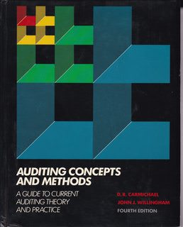 Image for Auditing concepts and methods: A guide to current auditing theory and practice