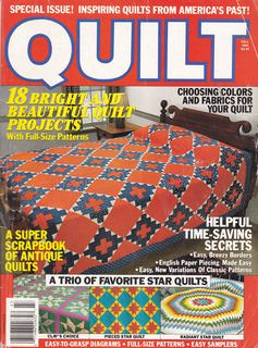 Image for QUILT - The World's Most Complete Guide to Quilting (Vol.16, No. 3) - Fall, 1994