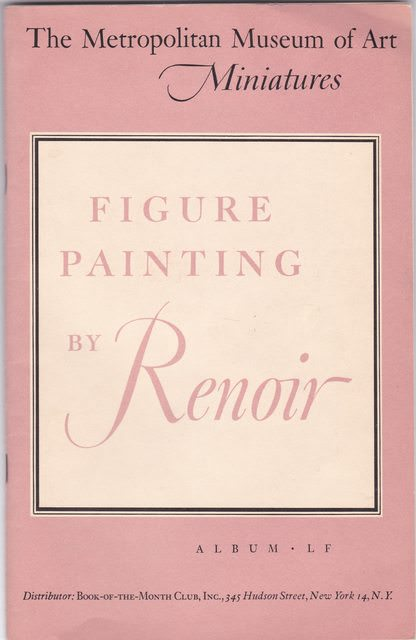 Image for The Metropolitan Museum of Art Miniatures: Figure Painting by Renoir (Album LF)