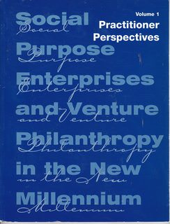 Image for Practitioner Perspectives: Volume 1: Social Purpose Enterprises and Venture Philanthropy in the New Millennium