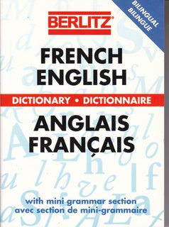 Image for Berlitz French-English Dictionary (Berlitz Bilingual Dictionaries)