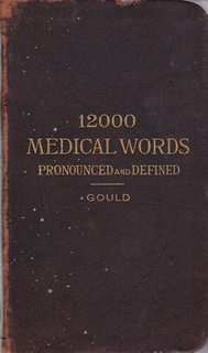Image for A Pocket Medical Dictionary; Giving the Pronunciation and Definition of about 12,000 of the Principal Words Used in Medicine and the Collateral Sciences