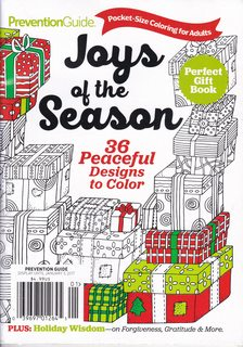 Image for Joys of the Season: 36 Peaceful Designs to Color (Pocket-sized Coloring for Adults)