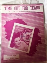 Image for Time Out for Tears (featuring Savannah Churchill and the Four Tunes) Piano and Voice