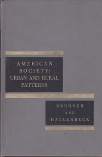 Image for American Society: Urban and Rural Patterns
