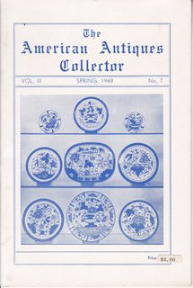 Image for The American Antiques Collector, Vol. III, Spring 1949, No. 7
