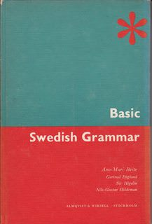 Image for Basic Swedish grammar