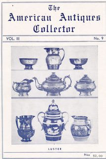 Image for The American Antiques Collector, Volume III, Number 9