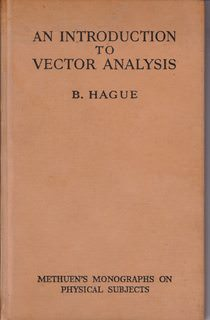 Image for An Introduction to Vector Analysis, With Thirty-Nine Diagrams