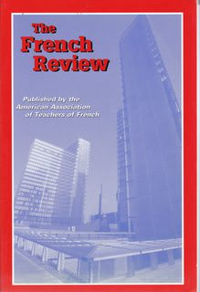 Image for The French Review: Volume 80 No. 1 Oct. 2006