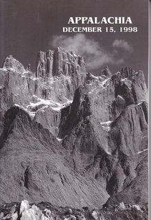 Image for Appalachia December 15, 1998 America's Oldest Journal Of Mountaineering And Conservation Volume LII Number 2