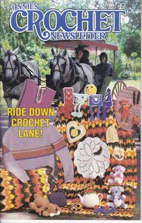 Image for Annie's Crochet Newsletter (Ride Down Crochet Lane!, Sept.-Oct. 1985, No. 17)
