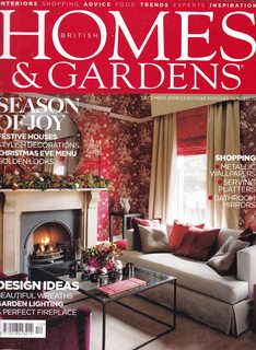 Image for Home & Gardens: British Edition Dec. 2008
