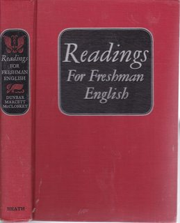 Image for Readings for Freshman English