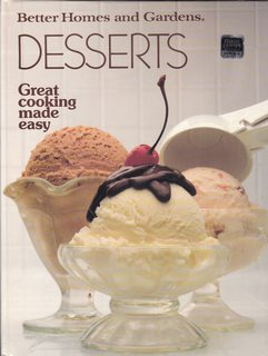 Image for Better Homes and Gardens Desserts (Great Cooking Made Easy)