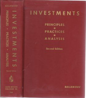 Image for Investments: Principles, practices, analysis