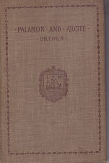 Image for Palamon and Arcite