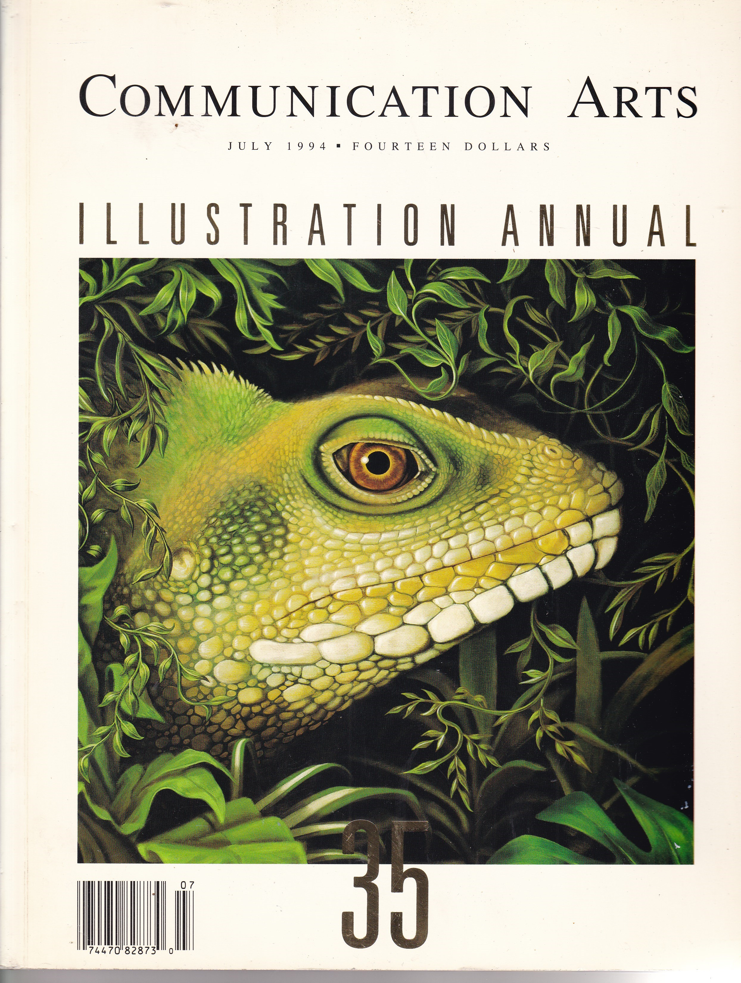 Image for Communication Arts Magazine Illustration Annual 35 July 1994