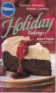 Image for 2003 PILLSBURY HOLIDAY BAKING Cookbook Cook Book Booklet