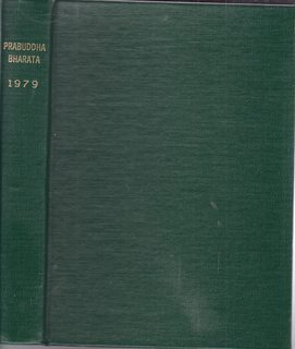 Image for PRABUDDHA BHARATA OR AWAKENED INDIA 1979 (Vol.LXXXIV) 12 issues in one volume
