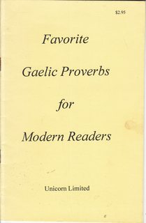 Image for Favorite Gaelic Proverbs for Modern Readers