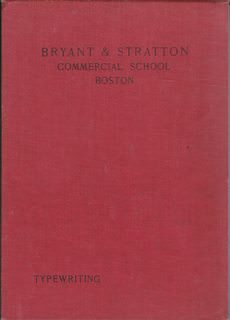 Image for Typewriting (For Bryant & Stratton Commercial School-Boston)