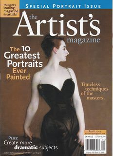 Image for The Artist's Magazine April 2005