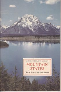 Image for Mountain States (Colorado, Wyoming, Montana) Know Your America Program (american Geographical society)