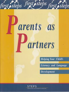 Image for Parents as Partners: Helping Your Child's Literacy and Language Development (First Steps