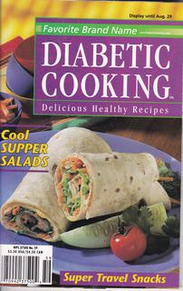 Image for Diabetic Cooking: Delicious Healthy Recipes (Favorite Brand Name, February 2000)