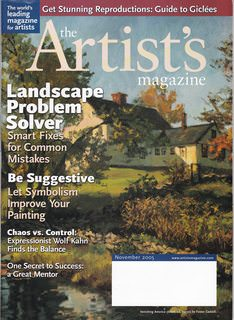 Image for The Artist's Magazine November 2005