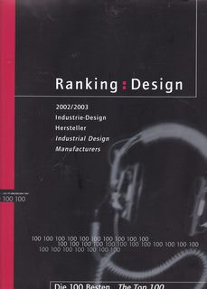Image for RANKING: DESIGN 2002-2003 - THE TOP 100 INDUSTRIAL DESIGN MANUFACTURERS IN GERMANY