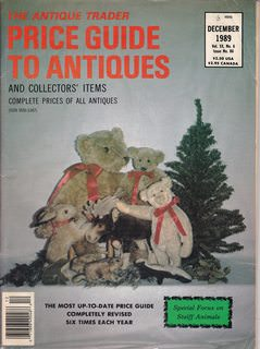 Image for Antique Trader Price Guide to Antiques and Collectors' Items Dec. 1989 Vol XX No. 6 Issue 86