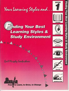 Image for Finding your best learning style and study environment (Your learning styles and)